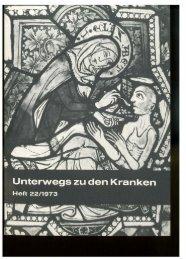 Unterwegs zu den Kranken 1973 - Schwesternschaft der ...