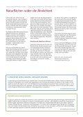 Jahresbericht 2009 - Natur & Wirtschaft - Seite 5