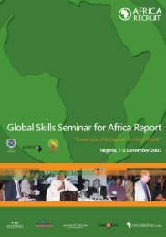 Developing Skills in Africa - Published by AfricaRecruit