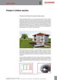 Pompes à chaleur eau/eau - accubel