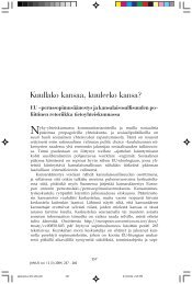 Ahponen, Pirkkoliisa - Sosiaalipoliittinen yhdistys ry