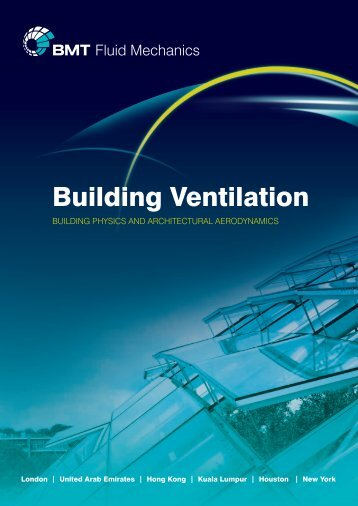 Building Ventilation brochure - BMT Fluid Mechanics