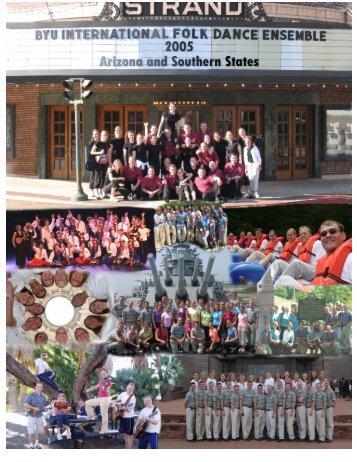 2005 - BYU International Folk Dance Alumni