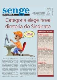Categoria elege nova diretoria do Sindicato - Senge-MG