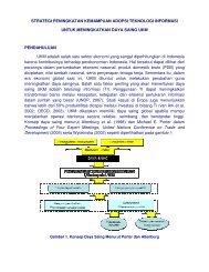 strategi peningkatan kemampuan adopsi teknologi informasi - Smecda