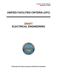 DRAFT UFC 3-500-10 Electrical Engineering - The Whole Building ...