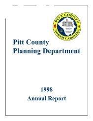 1998 - Pitt County Government