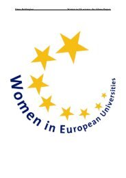 Women in UK science: the Athena Project