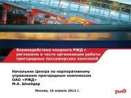 Российские железные дороги» Шнейдера Максима
