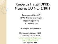 Ranperda Inisiatif DPRD dan UU ttg Perundangan.pdf - Kumoro.staff ...