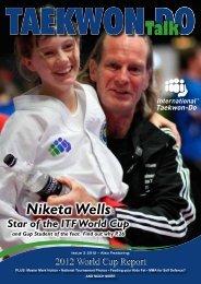 Niketa Wells - International Taekwon-do Federation of New Zealand