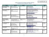 Childcare Centres 2013/2014 [PDF] - the York Catholic District ...