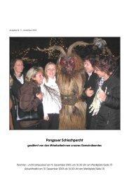 Pongauer Schiachpercht - Mattsee