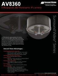 Download AV8360 - Platinum CCTV Downloads