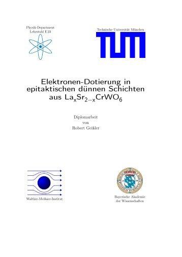 pdf, 4.2 Mb - Walther Meißner Institut - Bayerische Akademie der ...