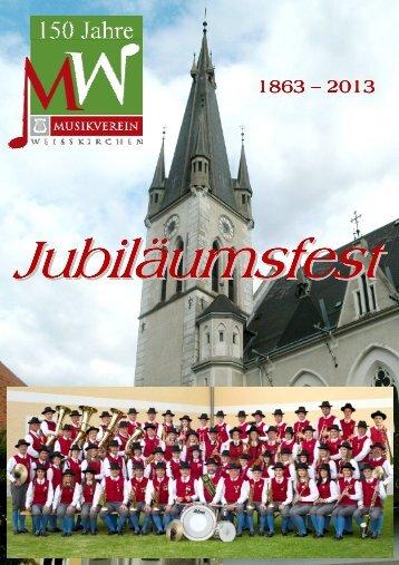 Jubiläumsjahr 2013: Folder 150 Jahre Musikverein Weißkirchen.pdf