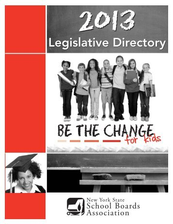 2013 Legislative Directory - New York State School Boards ...