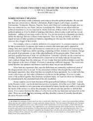 Griffin, Edward - The Chasm-Collectivism vs ... - preterhuman.net