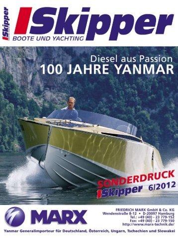 100 Jahre Yanmar Diesel aus Passion - MARX