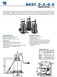 best 2-3-4-5 submersible sump pumps