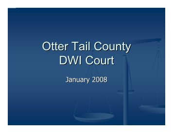 Otter Tail County DWI Court