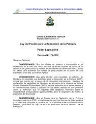 Ley Del Fondo Para La Reduccion De La Pobreza - Poder Judicial