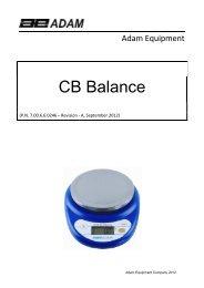 CB Balance - Adam Equipment