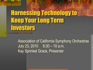 Harnessing Technology - ACSO