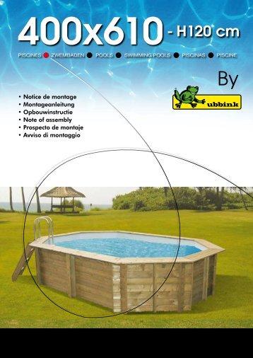 400x610- H120 cm - Loisir-jardin