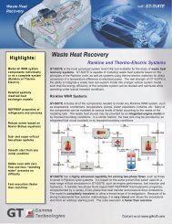 See the Waste Heat Recovery Brochure (PDF)