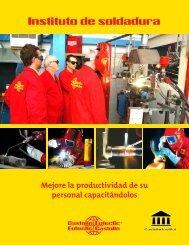 Programa Instituto de soldadura México 2013 - Castolin Eutectic