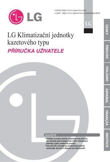 LG Klimatizaèní jednotky kazetového typu
