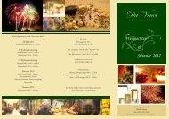Weihnachten & Silvester 2012 - Da Vinci