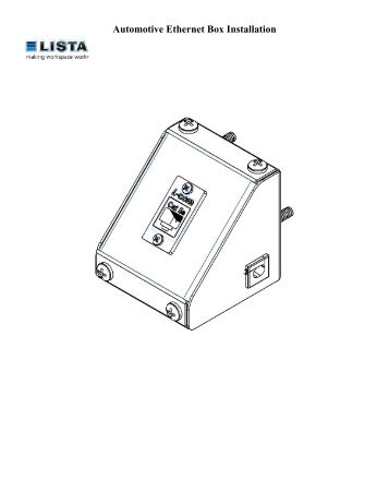 USBCNC-FAD-SW Internal Installation Manual Switch Box version