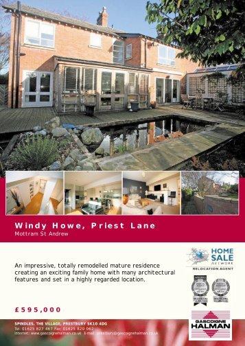 Windy Howe, Priest Lane