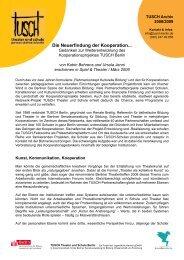Artikel TUSCH Neuerfindung der Kooperation