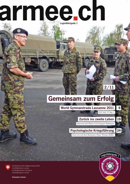Gemeinsam zum Erfolg - Logistikbasis der Armee LBA - admin.ch