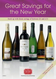 Great Savings for the New Year - The Wine Society