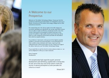 School Prospectus 2011-12 - The Hollins Technology College