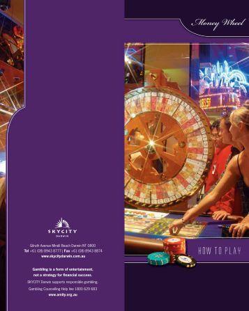 'how to play' Money Wheel guide. - SKYCITY Darwin