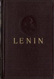 Collected Works of V. I. Lenin - Vol. 25 - From Marx to Mao