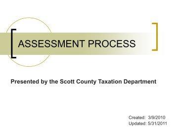 Realtor Presentation - Scott County