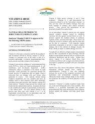 VITAMIN E 400 IU - Jamieson