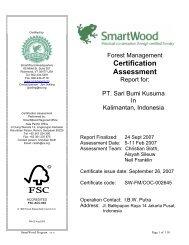 Certification Assessment - Rainforest Alliance