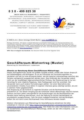 aufhebung des mietvertrag wohnungsauflsung berlin - Mietvertrag Garage Muster