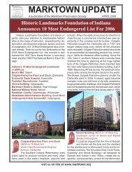 MARKTOWN UPDATE - Marktown Historic District