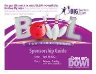 Sponsorship Guide - Hillcrest Family Services