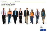 Interim dividend - The Weir Group