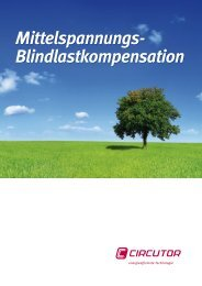 Mittelspannungs- Blindlastkompensation Mittelspannungs ... - infga