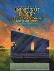 A Series of Unfortunate Events: Is This the End ... - Duane Morris LLP